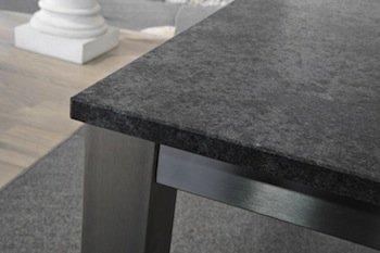 tisch granit edelstahl. Black Bedroom Furniture Sets. Home Design Ideas